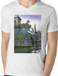 Canals Of Amsterdam IV Mens V-Neck T-Shirt