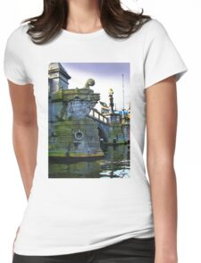 Canals Of Amsterdam IV Womens Fitted T-Shirt