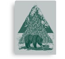 Teddy Bear Picnic Canvas Print