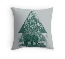 Teddy Bear Picnic Throw Pillow