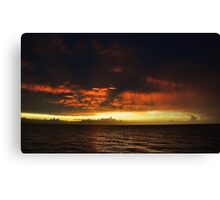 FIERY. (Montego Bay, Jamaica) Canvas Print