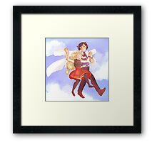 Professor Sycamore's Moving Lab Framed Print