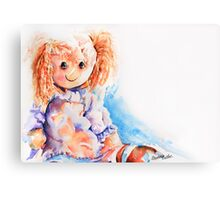 Raggedy Rosie... Canvas Print