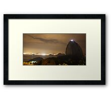 Sugarloaf Mountain Framed Print