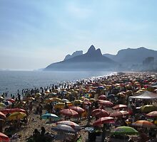 Beach of Umbrellas by Russell Shearing