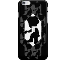 All in One Channel Logo (Black) iPhone Case/Skin