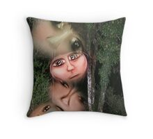 Nature Spirits Throw Pillow