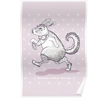 Variations of Alice - Viscacha [Purple] Poster