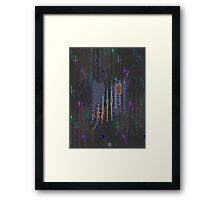"""""""Ice Cube Events""""© Framed Print"""