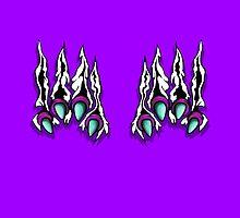 Ripping Monster Claws Demon Inside 1 by Sookiesooker