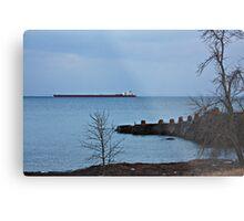 Great Lakes Shipping Metal Print