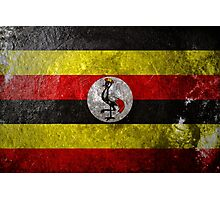 Uganda Grunge Photographic Print
