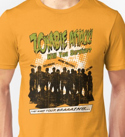 Zombie Attack! Unisex T-Shirt