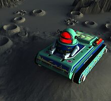 Toy Space Tank 2 by mdkgraphics
