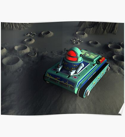 Toy Space Tank 2 Poster