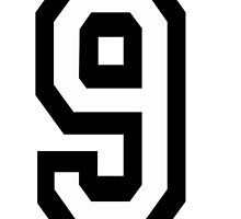 9, TEAM SPORTS, NUMBER 9, NINE, NINTH, competition by TOM HILL - Designer