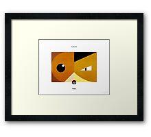 PKMNML #085-086 Framed Print