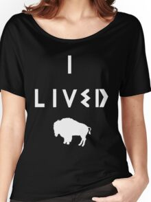 OneRepublic-I Lived Women's Relaxed Fit T-Shirt