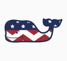 Whale America Chevon T-Shirt