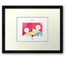PKMNML #079-080 Framed Print