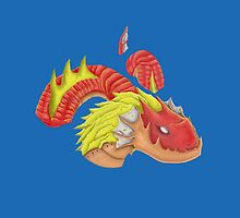 red water dragon  by fahruddinworks