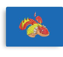 red water dragon  Canvas Print