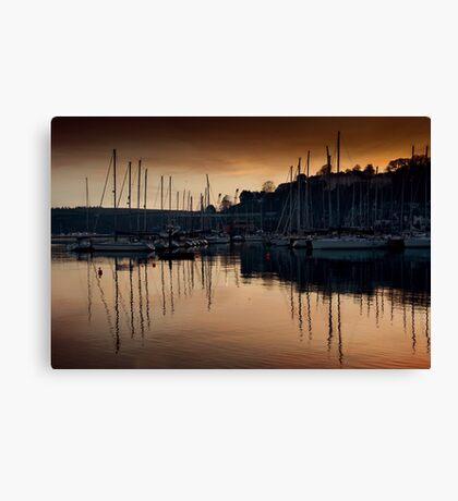 Kinsale Glows In The Winter Sunlight Canvas Print