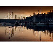 Kinsale Glows In The Winter Sunlight Photographic Print
