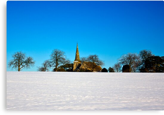 The Church on the Hill by Trevor Kersley