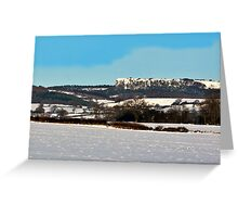 Roulston Scar Greeting Card