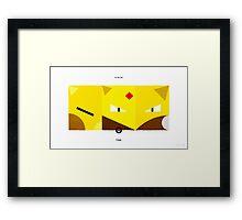 PKMNML #063-065 Framed Print