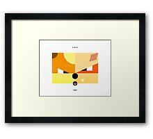 PKMNML #058-059 Framed Print