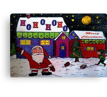 Merry Christmas 2010 Canvas Print