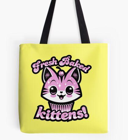 Fresh Baked Kittens  Tote Bag