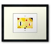 PKMNML #052-053 Framed Print