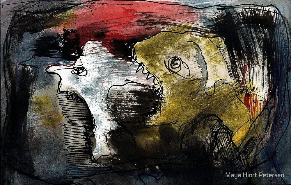 Agressions by Maya Hiort Petersen