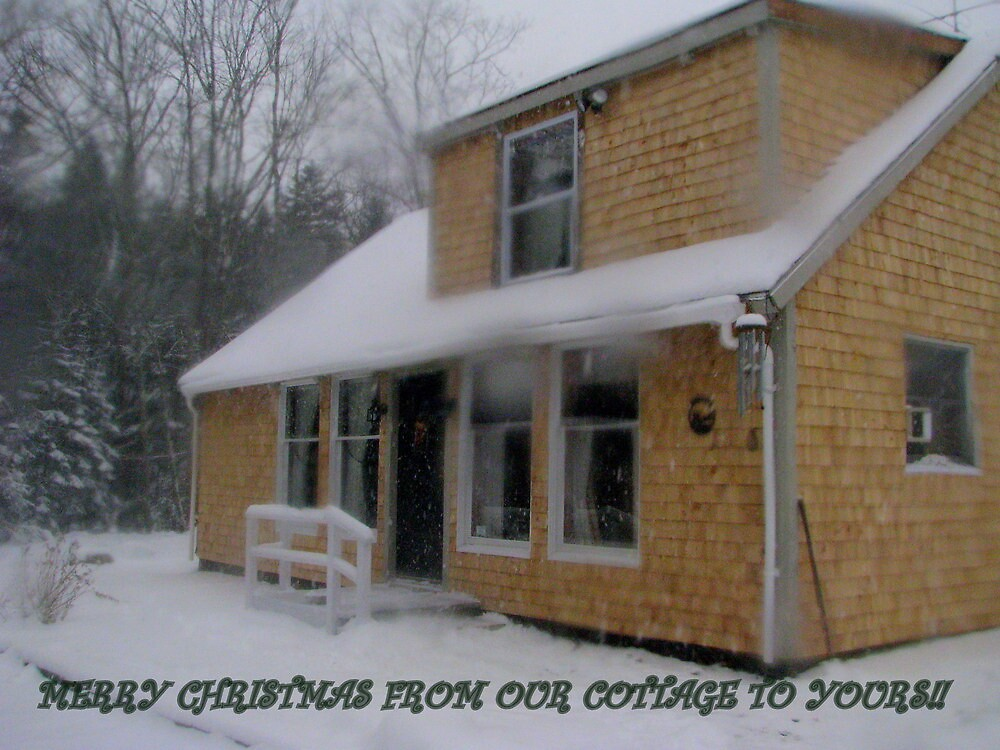 Our Winter Cottage by Patty Gross