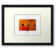 PKMNML #050-051 Framed Print