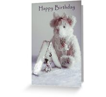 Teddy Bear with Fairy Birthday Card Greeting Card