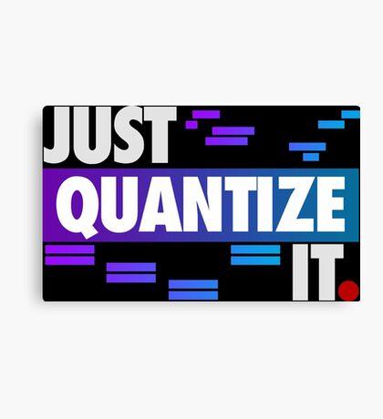 Just Quantize It (Color Edition) Canvas Print