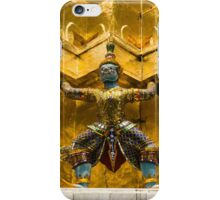 Thailand. Temple of the Emerald Buddha iPhone Case/Skin
