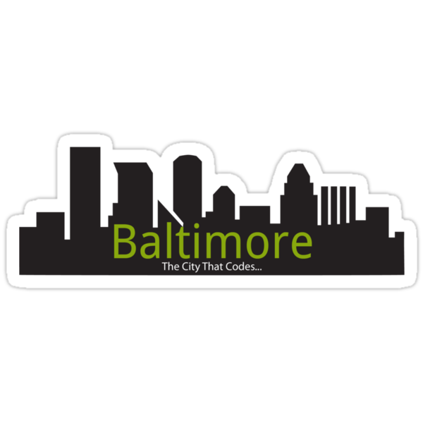 Baltimore The City That Codes by shutterfool