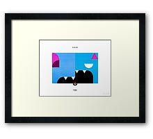 PKMNML #041-042 Framed Print