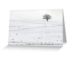 Snow in Cumbria Greeting Card