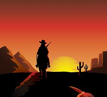 I'm a poor lonesome cowboy... by Colin Cramm