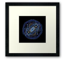 Cell Division Plastified Framed Print