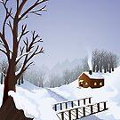 Winter landscape by Colin Cramm