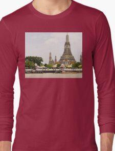 Thailand. Wat Arun (Temple of Dawn) Long Sleeve T-Shirt