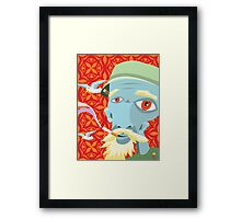 Dean's Dimension Wandering Grandfather Framed Print