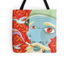 Dean's Dimension Wandering Grandfather Tote Bag